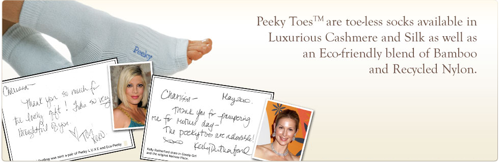 Peeky Toes introduction
