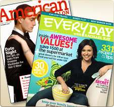 Peeky Toes were featured in Rachel Ray's Every Day Magazine and are worn by Kelly Rutherford and Tori Speling